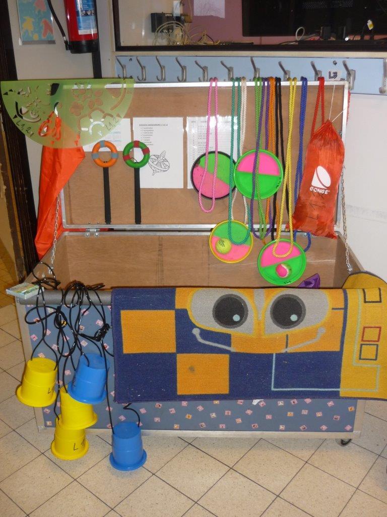 Speelgoedkoffer L1 - L2