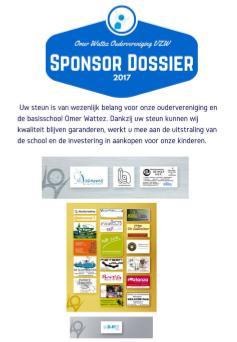 sponsordossier